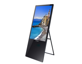 Digital Portable Floor Standing Display