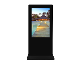 Outdoor Freestanding LCD Display
